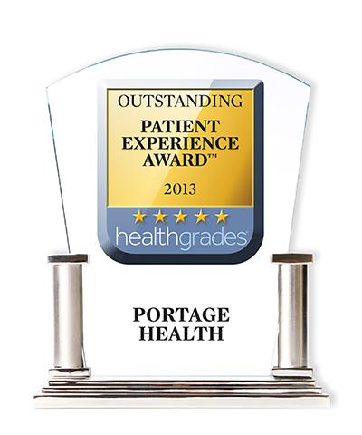 Portage Health 2013 Healthgrades Award