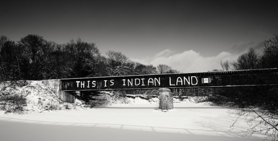 Stan Williams Image This is Indian Land