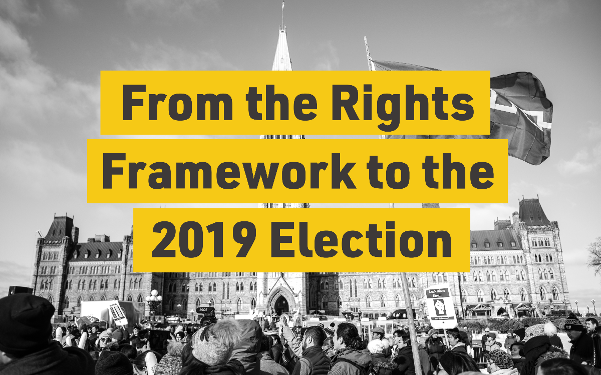 From the Rights Framework to the 2019 Election