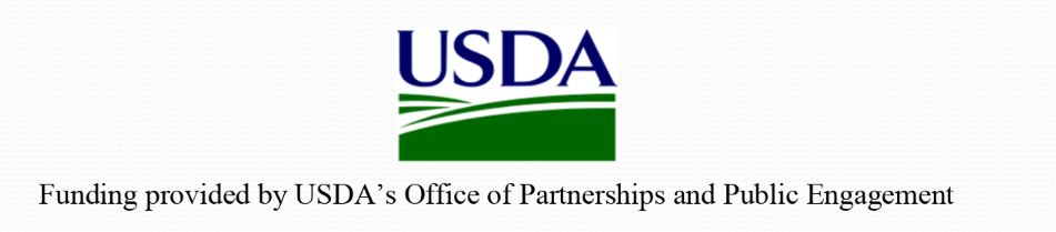 USDA logo in blue and green on white background