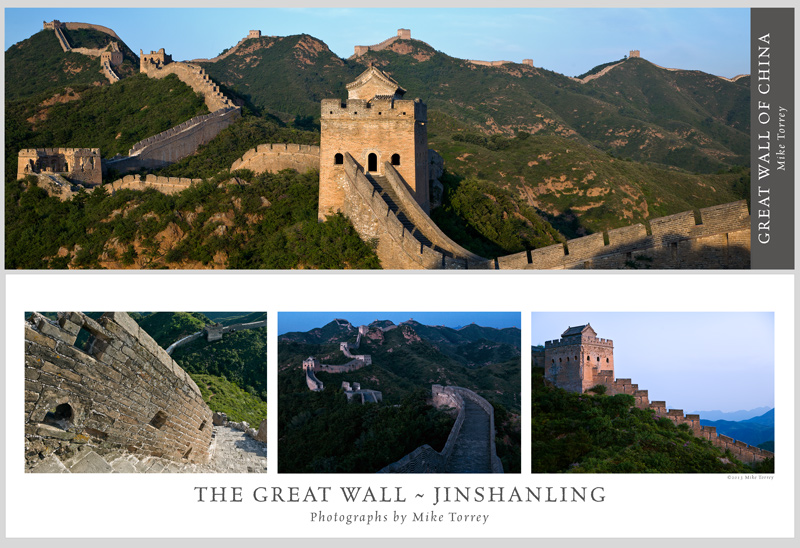 Great Wall Poster by Mike Torrey