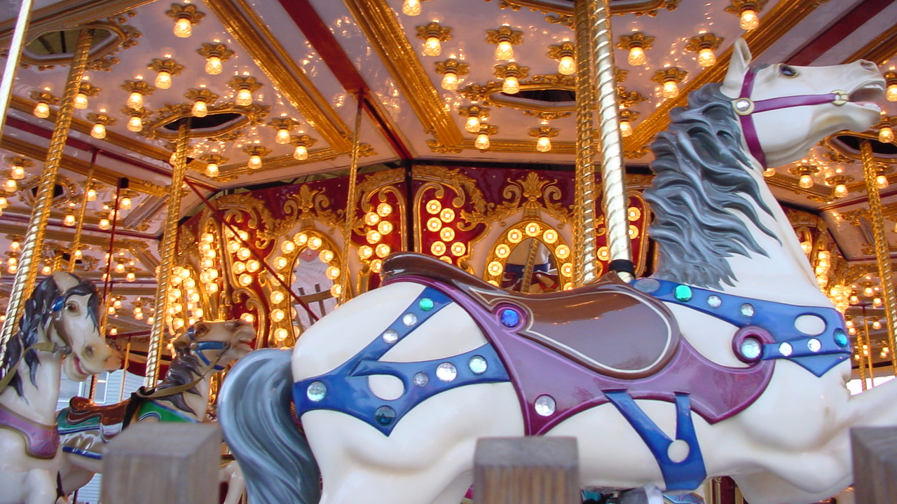 Can you get off the merry-go-round?