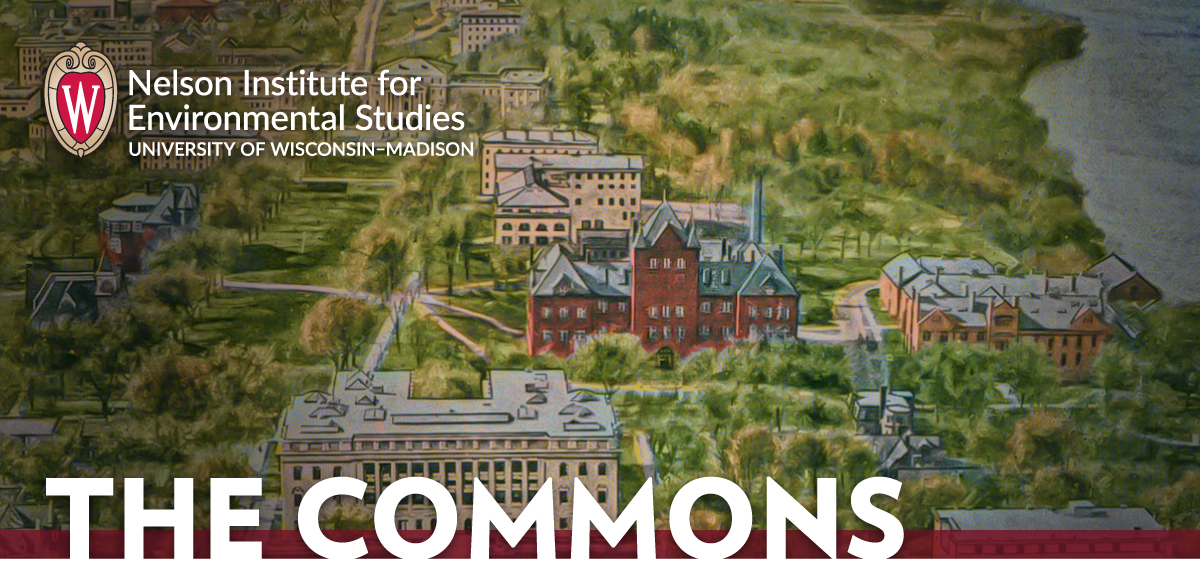 Nelson Institute for Environmental Studies University of Wisconsin–Madison THE COMMONS