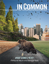 In Common magazine cover: Fall/Winter 2014