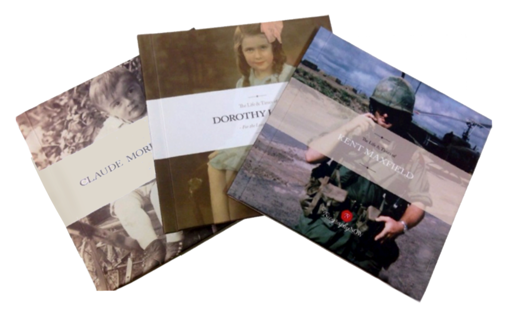 Have your loved ones tell their stories with a BiographyNow Book