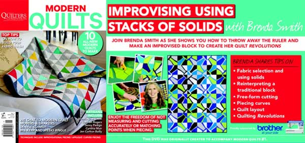 Modern Quilts - Improvising Using Stacks of Solids