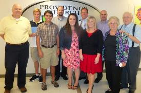 Providence Church mission team