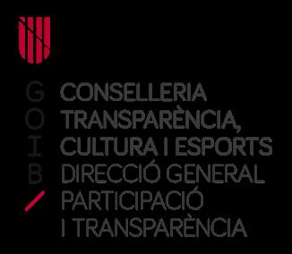 logo conselleria transparència cultura i esports