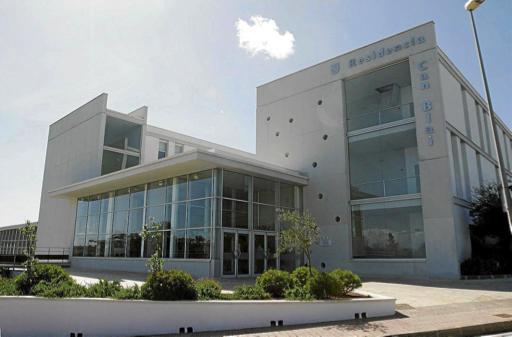 Fotografia de l'edifici de la residència