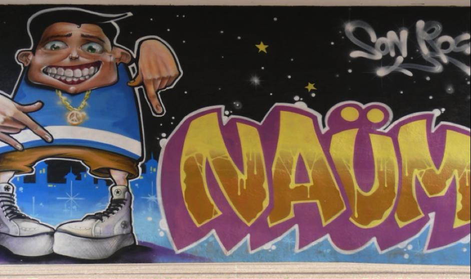 GRAFFITTI DE NAÜM