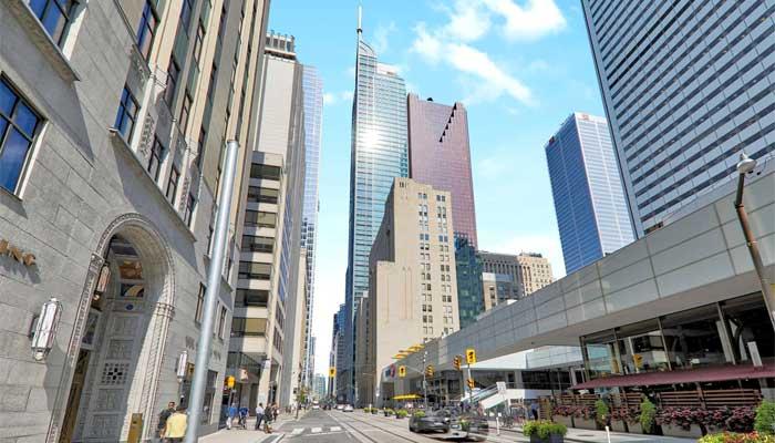 گرانترین دفاتر کار کانادا در شهر تورنتوست