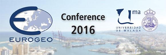 2016 EUROGEO conference header Malaga