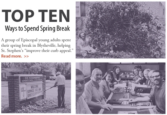 Read about young adult spring break project in Blytheville