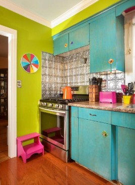 My colorful cheerful kitchen