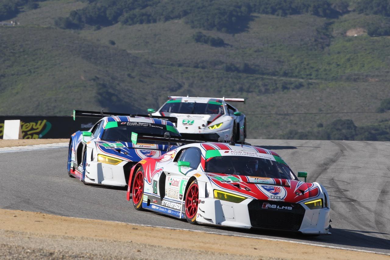 Stevenson Motorsports Qualify 6th