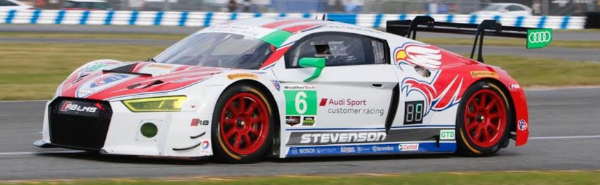 Stevenson Motorsports Returns to Rolex 24 with No. 57 Audi R8 LMS