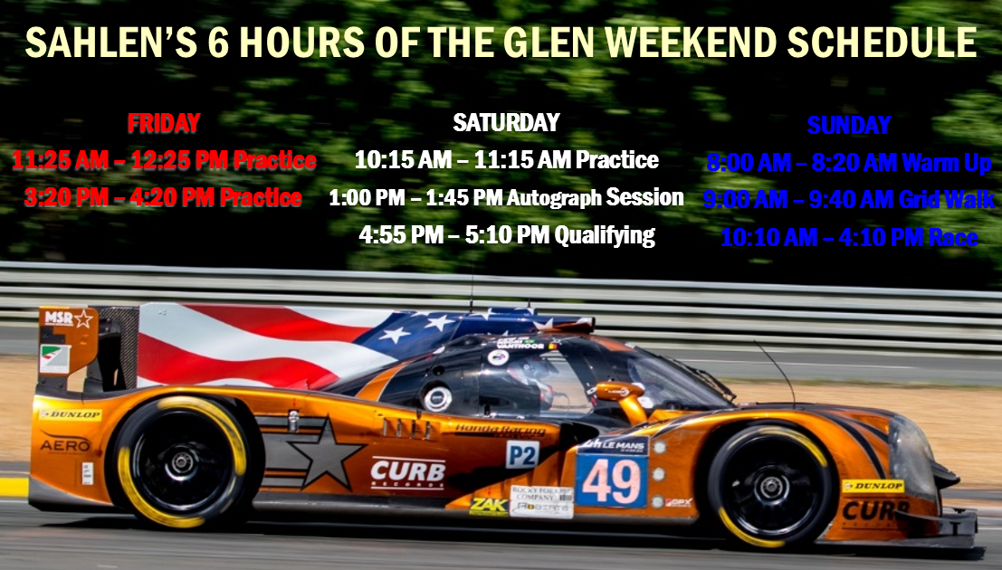 MSR with Curb/Agajanian returns to The Glen