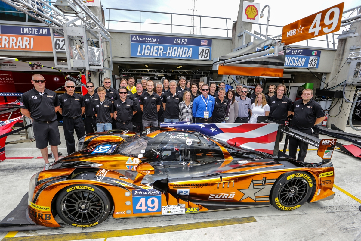 MSR takes Ninth at Le Mans