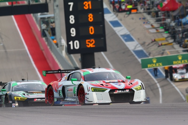Stevenson Motorsport R8 qualify 2nd at COTA