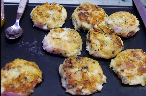 Photograph of Newfoundland fish cakes