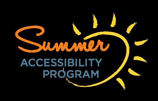 Summer Accessibility Program logo