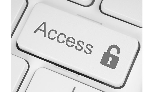 "Word ""Access"" on a keyboard enter key"