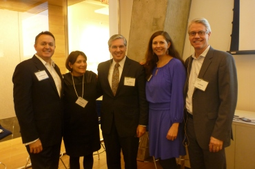 Terry Dunkin, Theddi Wright Chappell, Cliff Majersik, Leanne Tobias