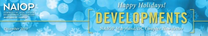 NAIOP Developments Newsletter - November 2012