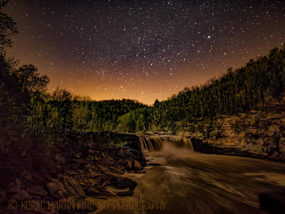 Night at Cumberland Falls