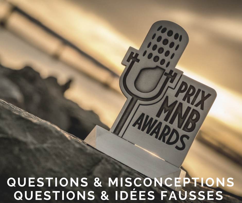 Prix MNB Awards: Questions and misconceptions