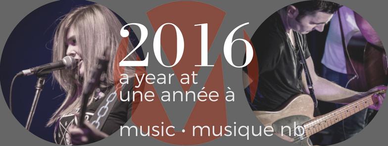 A Year at / Une année à Music • Musique NB