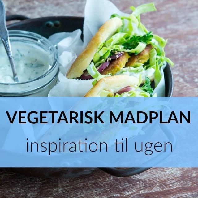 Ugens vegetariske madplan