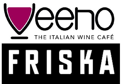 Friska and Veeno logos