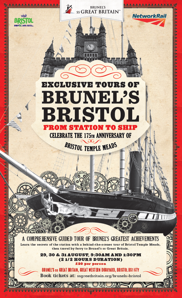 Poster for Brunel tours
