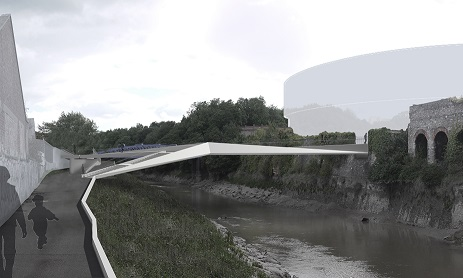 Artist's impression of how the bridge may look
