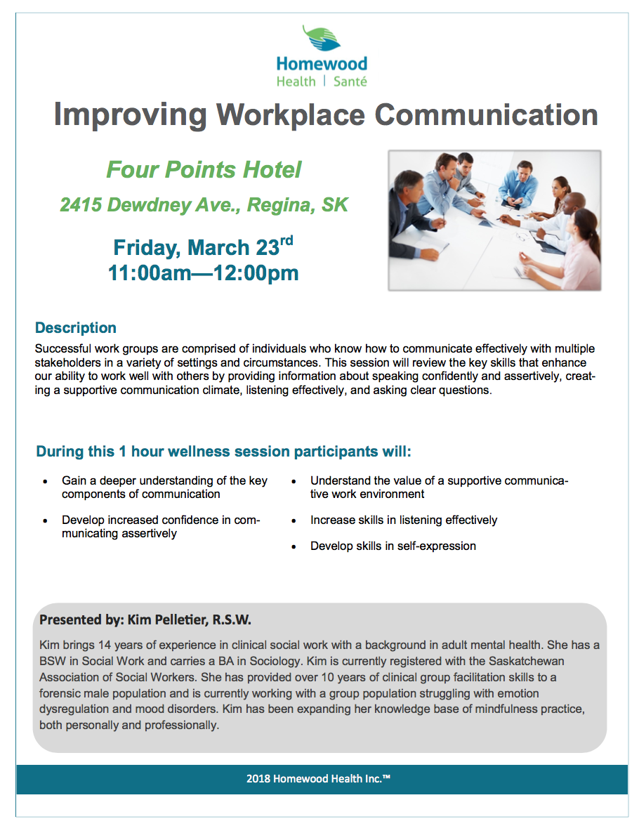 Improving Workplace Communication