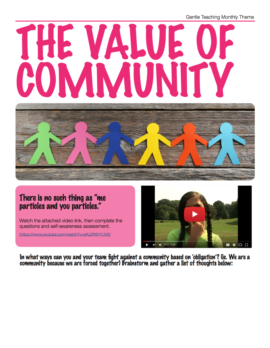 Value of Community
