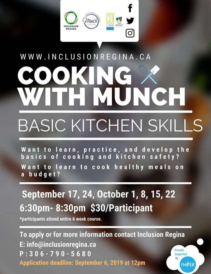 Cooking with Munch: Basic Kitchen Skills