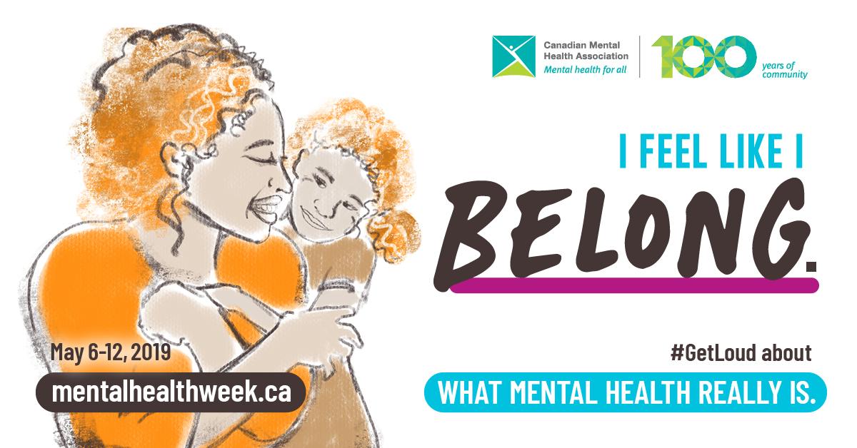 Mental Health Week May 6-12, 2019
