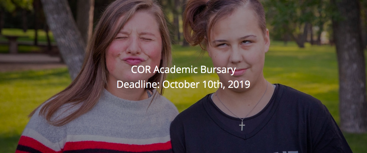 COR Academic Bursary