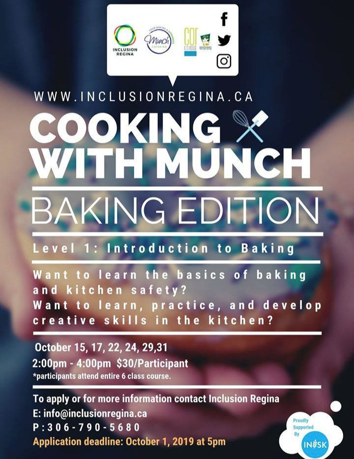Cooking with Munch: Baking Edition