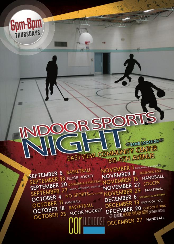 COR Indoor Sports NIght 2018