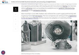 Razzi stampti in 3D a Formnext