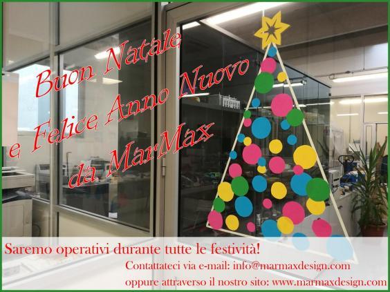 Buon Natale e Felice Anno Nuovo da MarMax