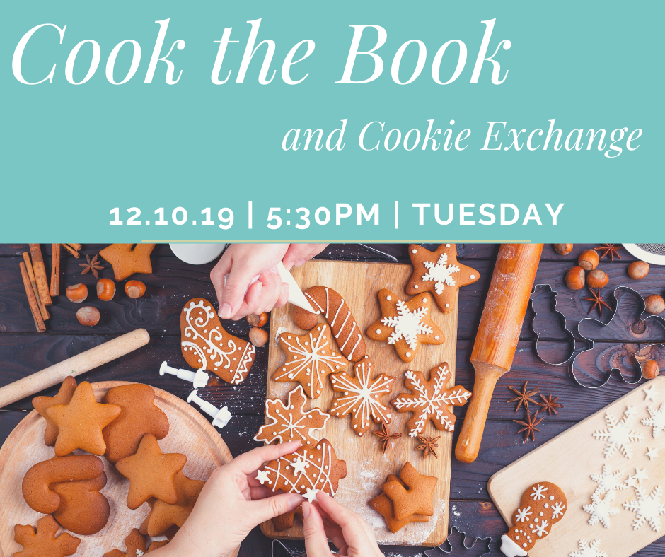 Cook the Book and Cookie Exhange