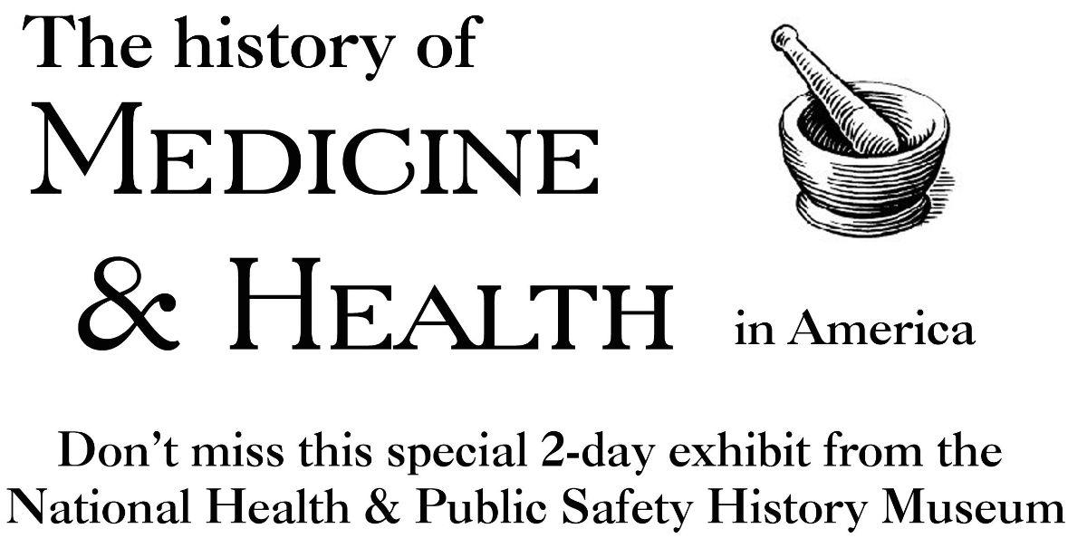 history of medicine & health flyer