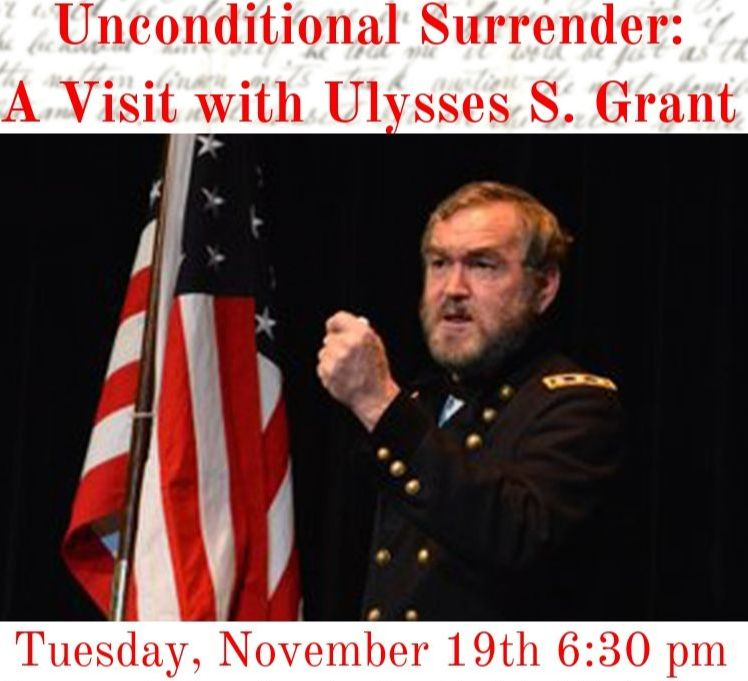 Ulysses S. Grant program 11-19-19 6:30pm