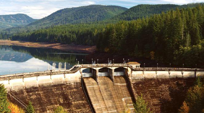 Bull Run Dam