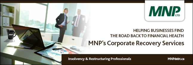 MNP LTD - Helping businesses find the road back to financial health | MNPdebt.ca