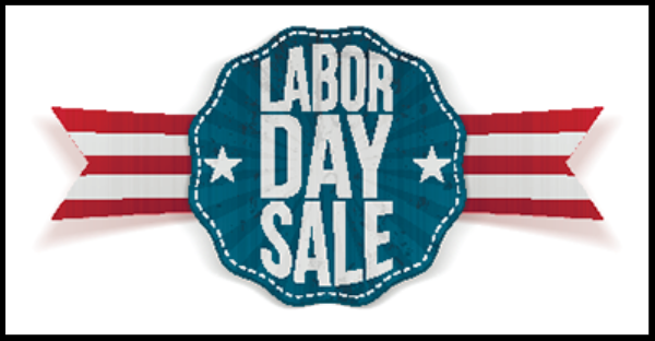 September 4th, 5th, 6th Labor Day Sale